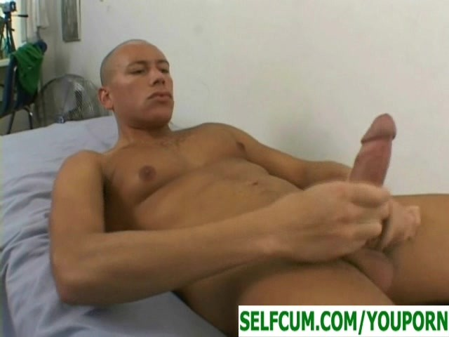 Self Sucking His Ten Inch Dick And Cumming In His Own -8169