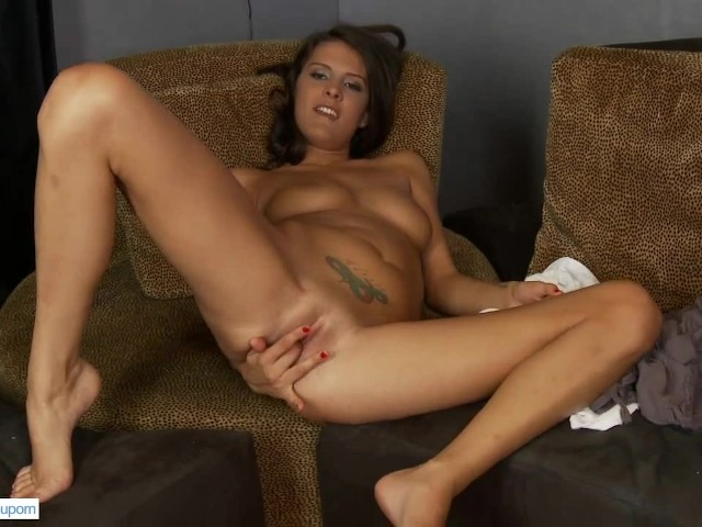 Amateur erin fingering and teasing with dildo 10