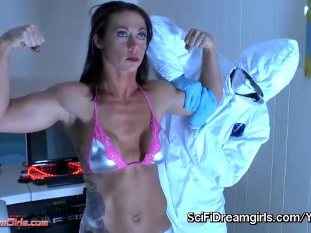 SciFiDreamgirls Fembot Sex With Ashley Fires. Episode #15: Project Titan, the Beginning #1191259