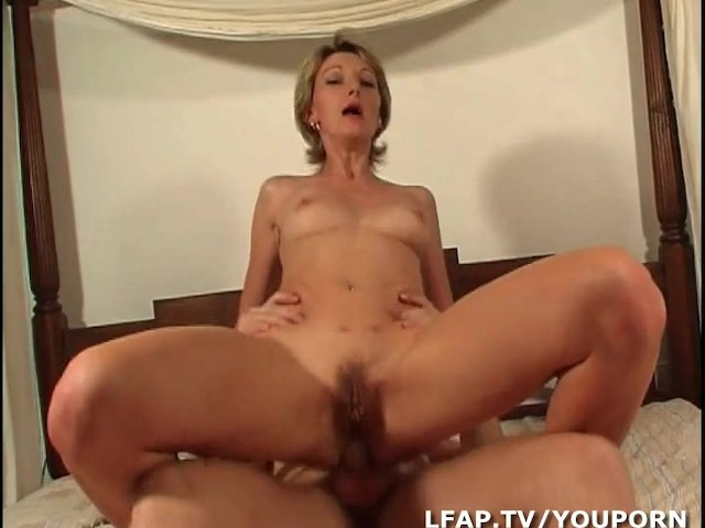 Blonde heather toying her pussy