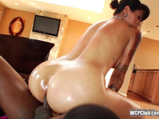 Interracial Bubble Butt Anal