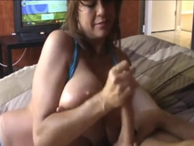 Very large tits solo