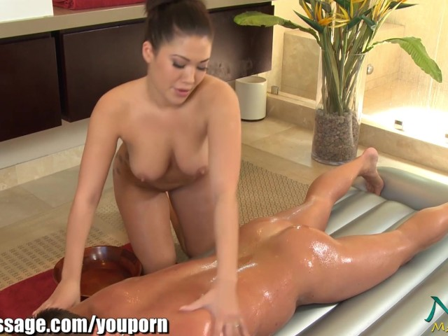 Asia massage porn