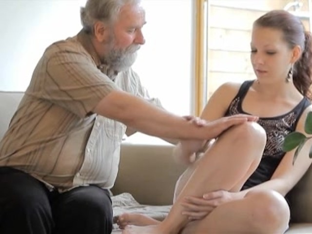 Old man young girl sex puss-6916