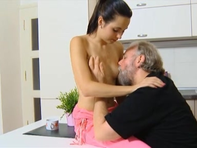 old man and young pussy panties