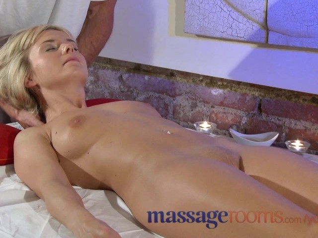 Amazing blonde blowjob massage ends up in 1