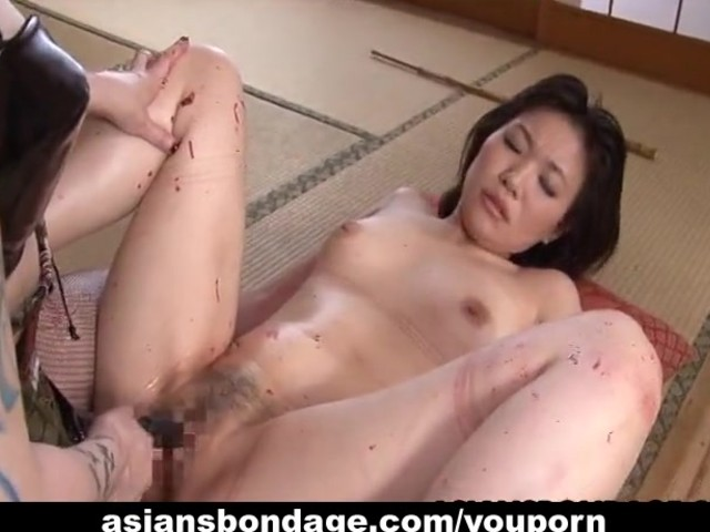 Rough asian mistress plows her sweet slave girl 7