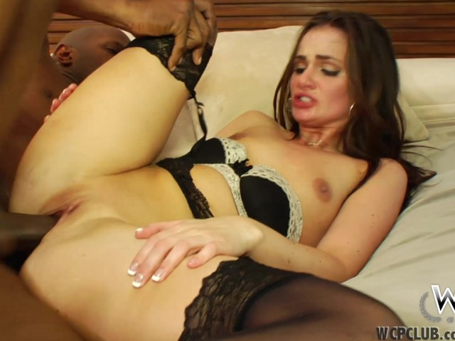 Wcpclub Petite Girl Squirting On A Big Black Cock - Free -5961