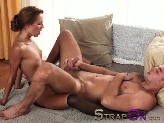 Muscle Guy Gives Handjob Gets Ass Fuck