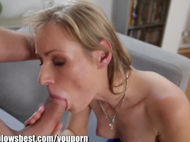 Suck blonde milf