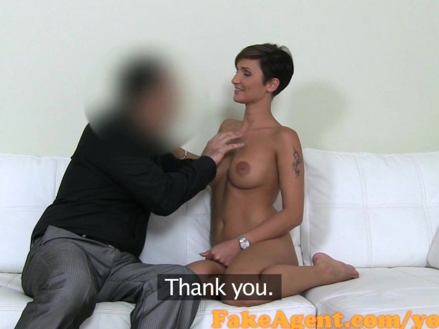Fakeagent blonde with amazing natural tits 2