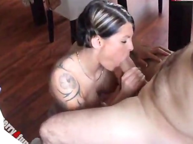 Amateur wife fucks monster cock, cum swallow mature