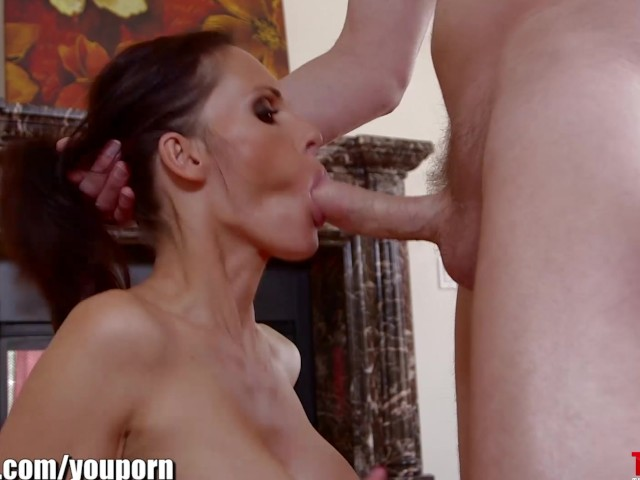 Throated Jennifer Dark Is Giving Me Her Best Deepthroat -5995