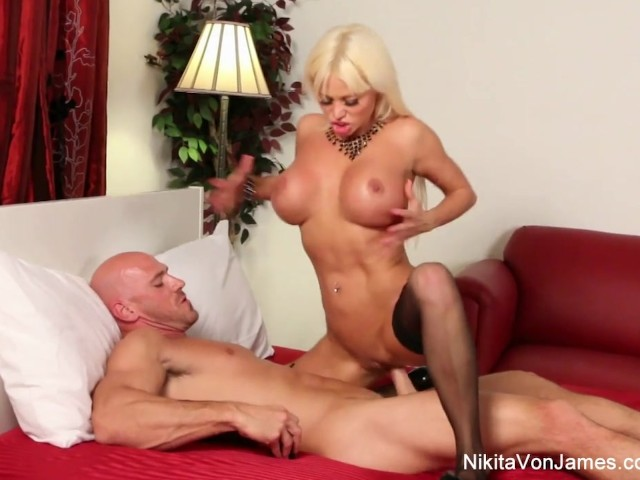Teen blonde sucks and rides