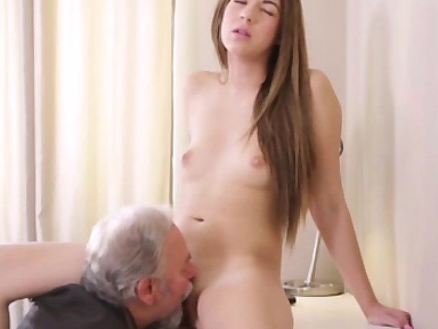 Sexy Czech Student Fucked By Her Tricky Old Teacher On The -7105