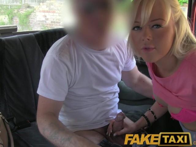 image Faketaxi blonde babe sucks and fucks in taxi