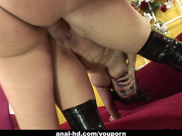 Saggy tits anal