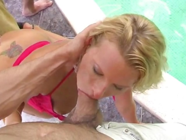 Very tall blonde takes an anal pounding 5
