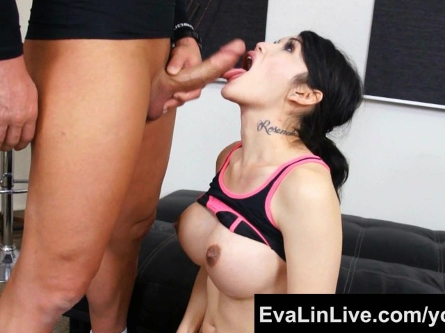 Ts Eva Lin Gets Her Ass Drilled by Her Buff Trainer - Free Porn Videos -  YouPorn