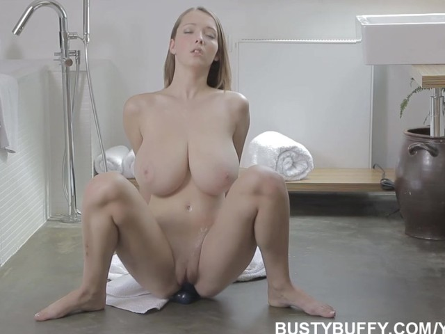 18yo busty buffy masturbates in her bedroom - 2 part 4