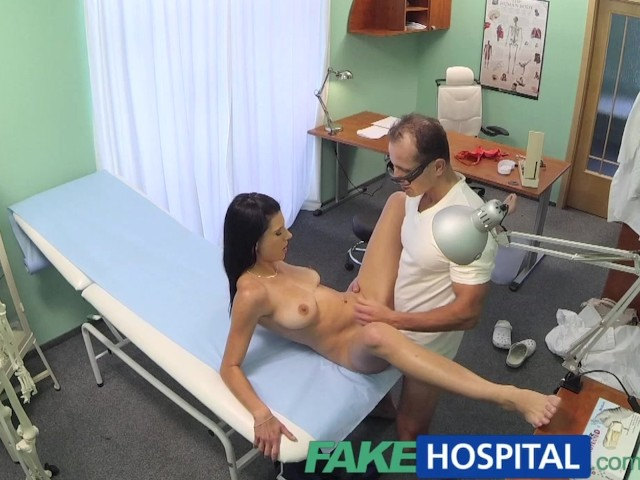 Fakehospital doctor gets sexy patients pussy wet 8