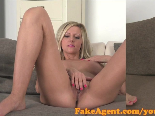 Fakeagent blonde with amazing natural tits fucks for a job 3