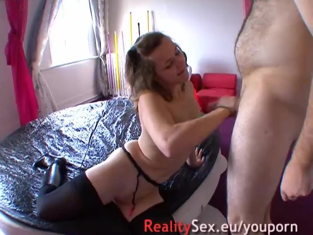 German amateur couple at home