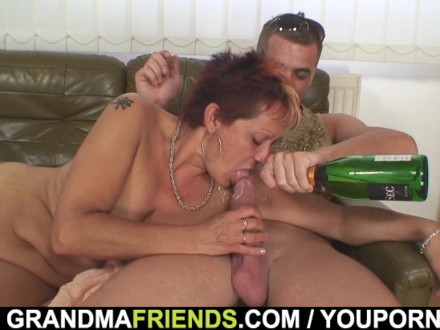 Granny double penetration porn-6815