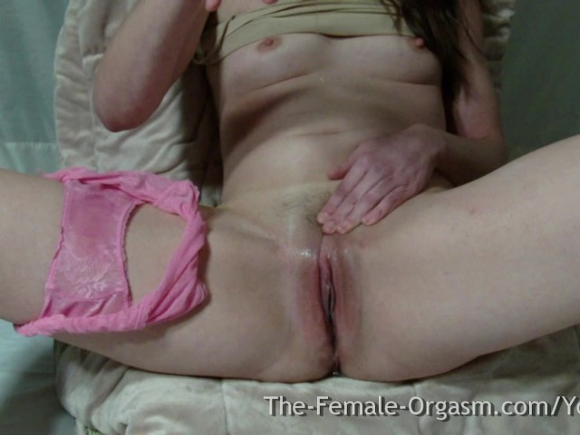 Orgasm voyeur college girl masturbation plump