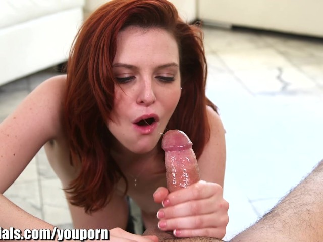 1000facials my cock spitting on a redhead bitch039s forhead 2