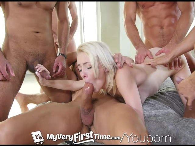 Free uncensored gang bang video