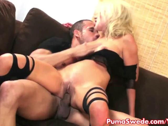 Euro babe puma swede fucks tiffany amp elle in threesome 9