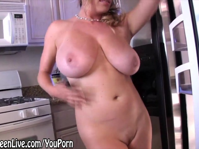 Busty blonde maggie green cums with big toy