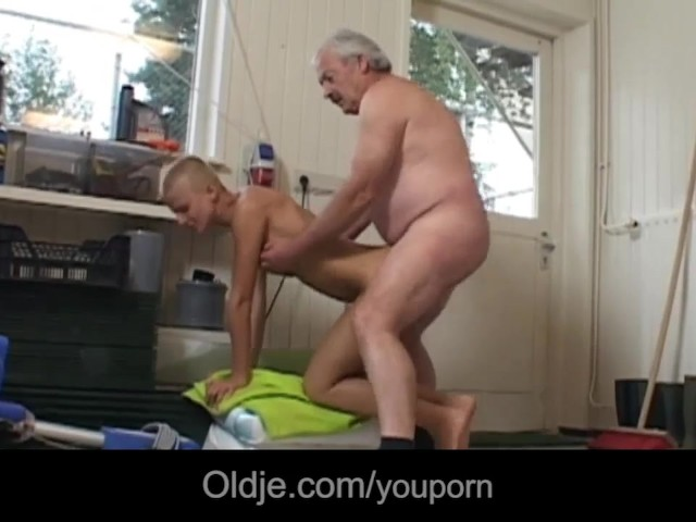 Tattoed Short Haired Student Milking Grandpa Dick Free Porn Videos Youporn