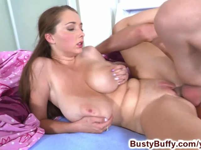 Busty Buffy pumps her roommates cock #313989