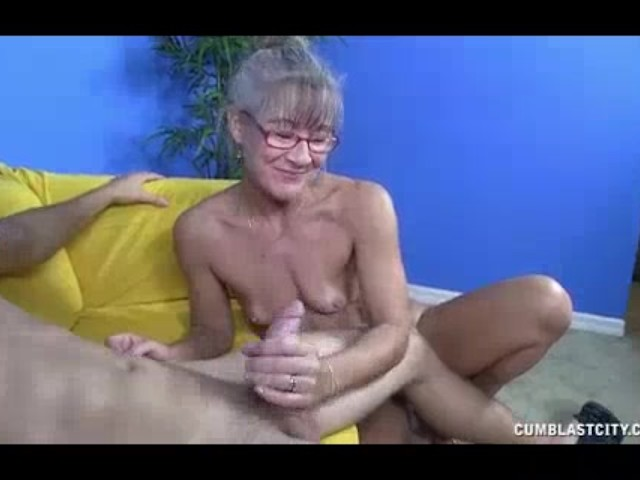 image Bigsized milf jerking her daughters boyrfie