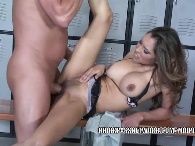 image Slutty milf nataly rosa gets her latina pussy pounded