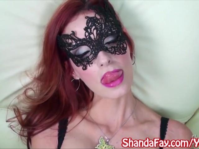 Kinky canadian milf shanda fay gets anal cream pie in stockings 10
