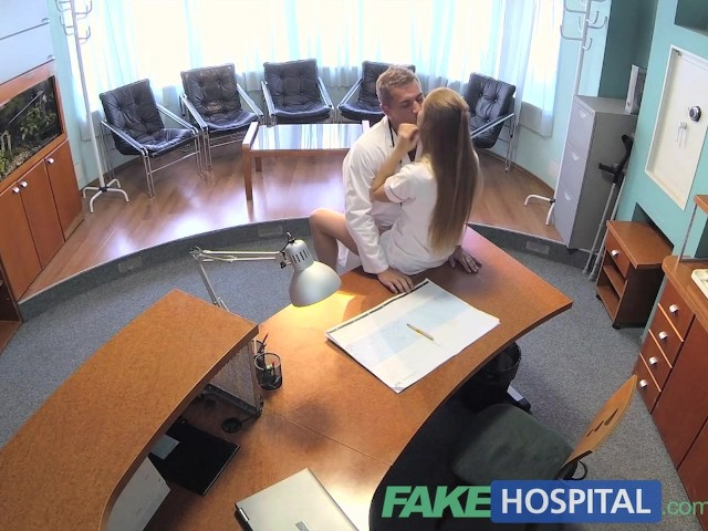 Fakehospital hot nurse join doctor and patient for threesome 3