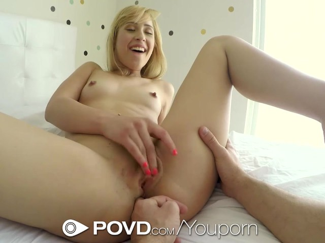 POVD - Guy chases his girl Goldie for some hot young pussy #306119