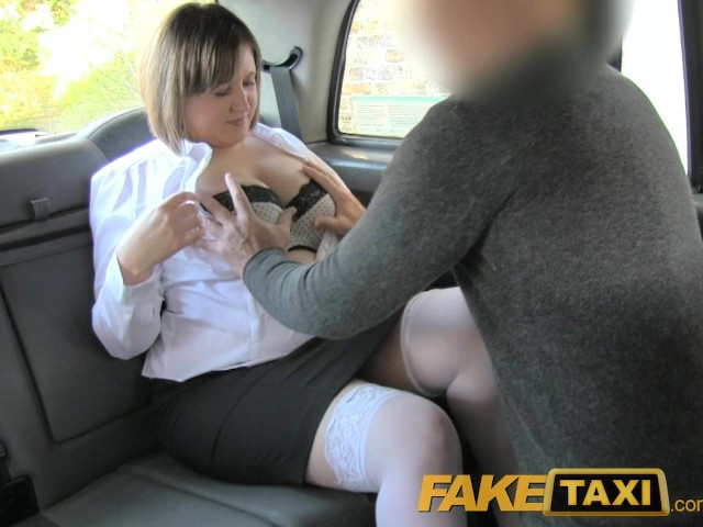 image Faketaxi back seat anal for curvy lass in london taxi cab