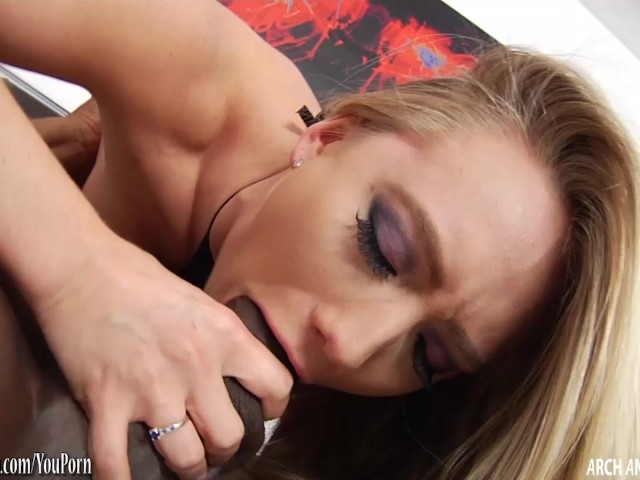AJ pounded hard by big black cock #276449
