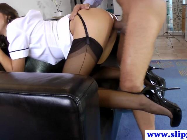Stockings babe cockriding older brit #1154124