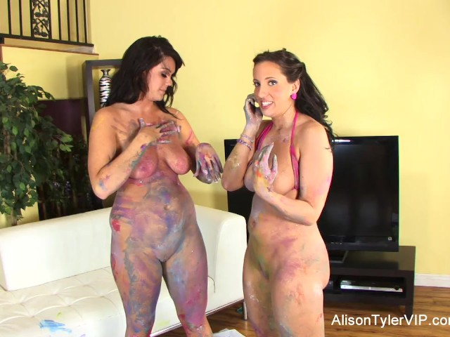 Body paint lesbian sex, dad fucks daughter stories
