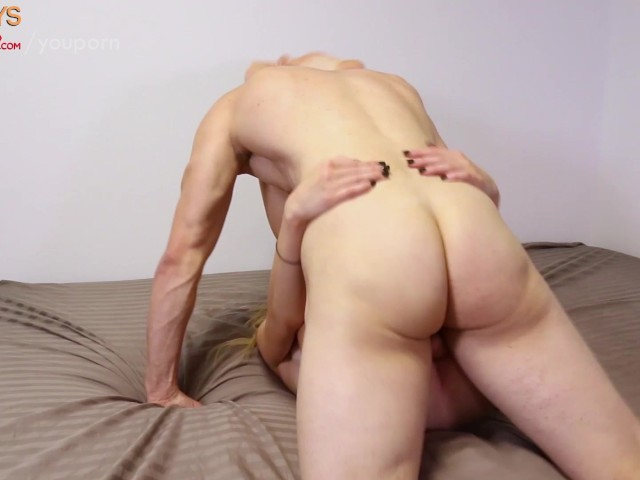 tight dude with blond hair is fucked