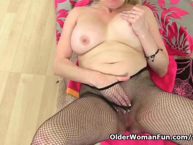 image British milf tori loves her easy access pantyhose