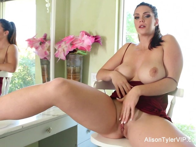 Alison tyler enjoys herself while shooting 5