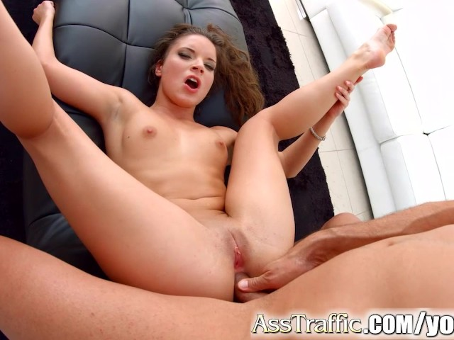 Ashley gets a creampie