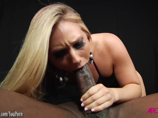 Blonde monster cock