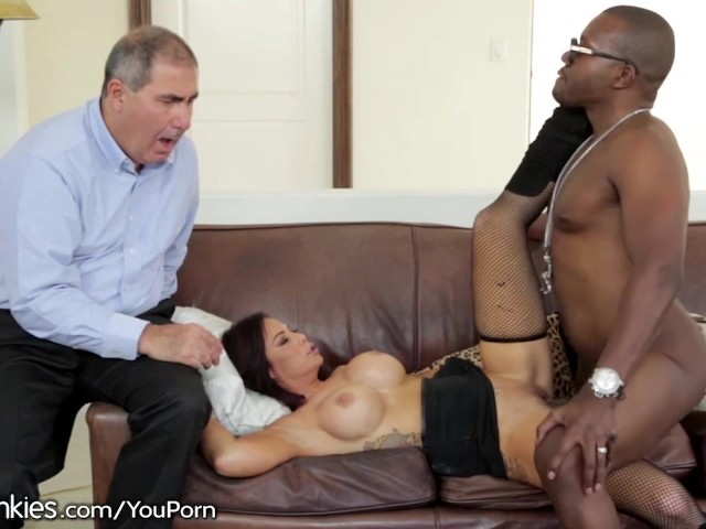 Bitch Husband sees Hot Wife fuck Black Guy #1156919